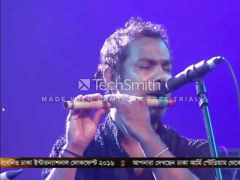 Best flute playing /Dhaka International Folk Fest -- Banglar Banshi (Jalal Ahmad)