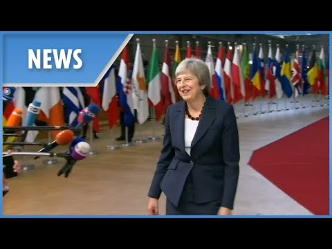 British Prime Minister Theresa May says Brexit transition period may be extended