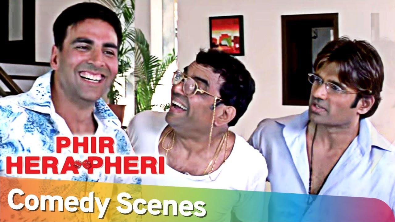 Phir Hera Pheri | Best Comedy Scenes | Akshay Kumar- Paresh Rawal - Rajpal Yadav - Johny Lever