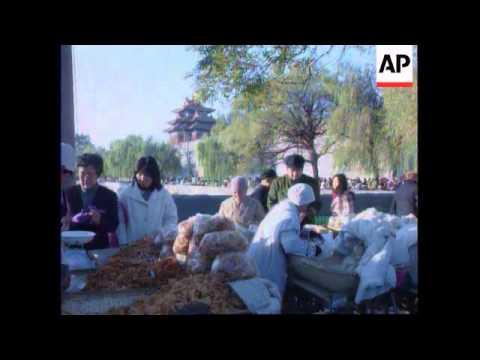 China - Cabbage harvest