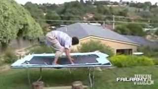 youtube video - Лоси на батутах.