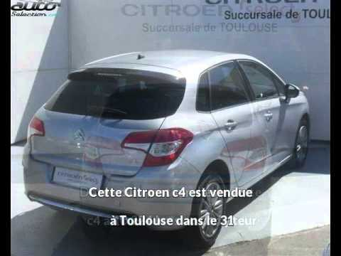 citroen c4 occasion visible toulouse pr sent e par citroen toulouse youtube. Black Bedroom Furniture Sets. Home Design Ideas