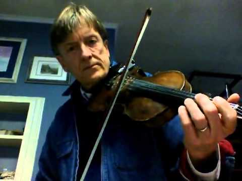 Fiddle Lessons by Randy: Beginner Tune 1, Britches Full Of Stitches, Pt 2 slow