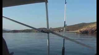 Nice Boat Ride in Greece, from Chios to Oinousses Island