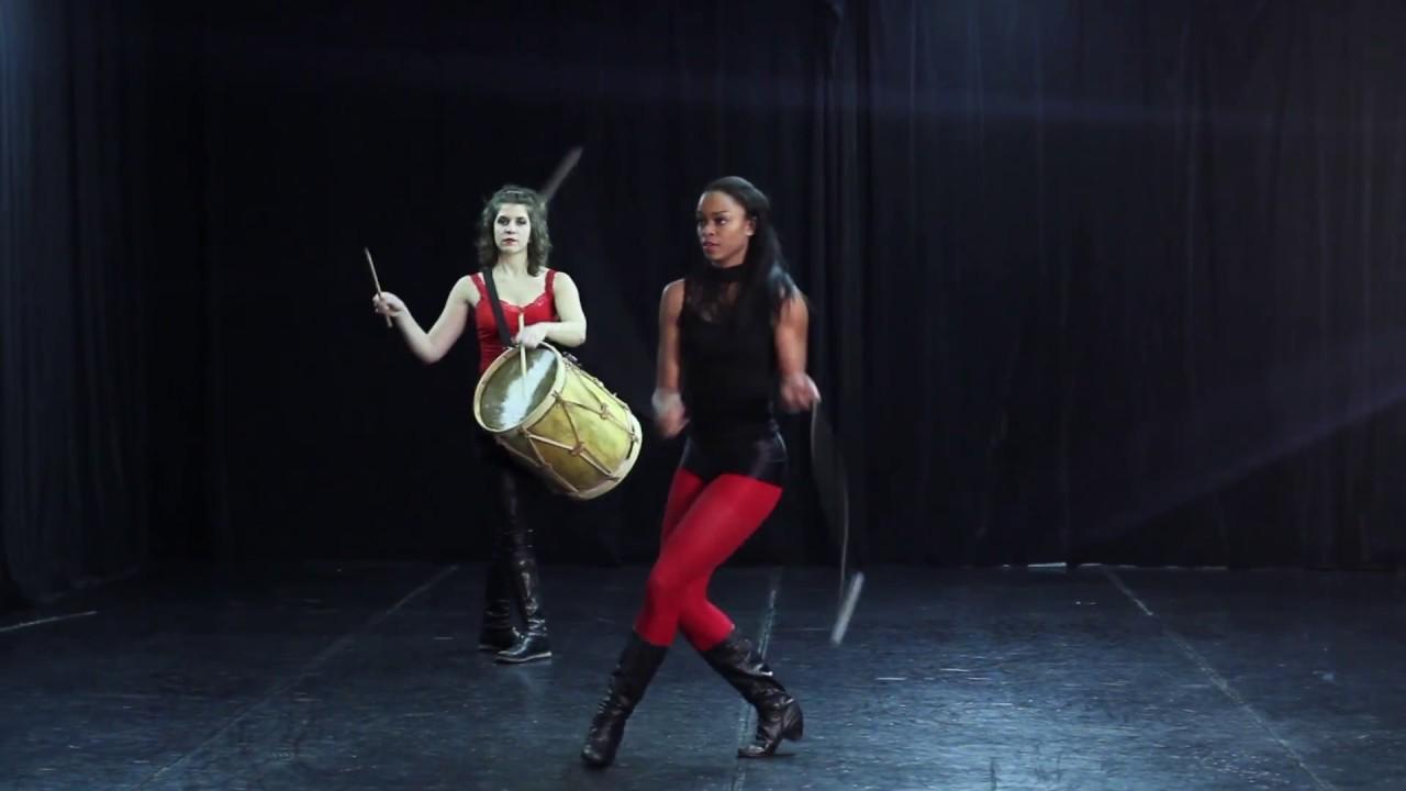 Boleadoras - Sarah Louis-Jean / Drum - Marise Demers