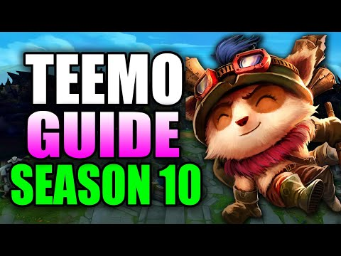 HOW TO PLAY TEEMO SEASON 10 - (Best Build, Runes, Gameplay) - S10 Teemo Gameplay Guide
