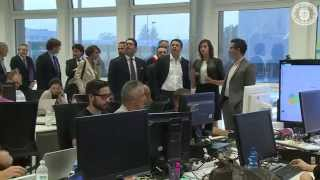 MATTEO RENZI | Prime Minister of Italy visits YOOX Group Headquarters in Bologna Thumbnail