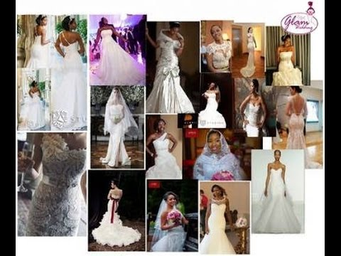 50 Wedding Gown Styles for Nigerian Brides & Black African Women ...