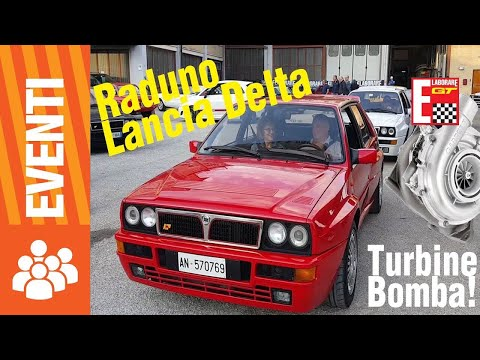 Lancia Delta Integrale e turbine bomba!