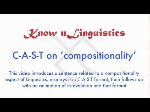 KnowULinguistics - Compositionality (1)