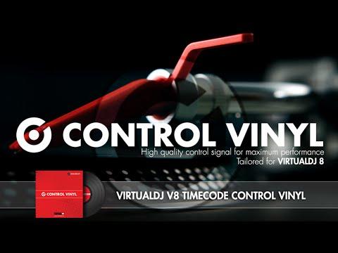 VirtualDJ 8 Control Vinyl