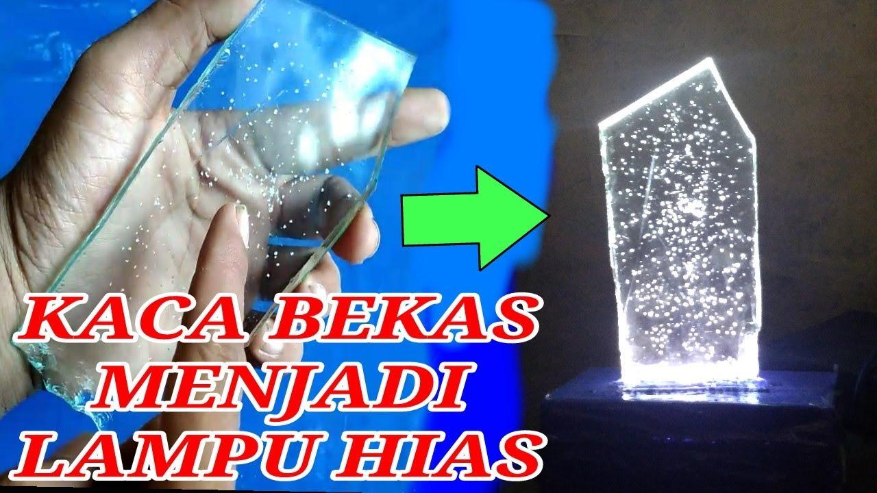 Ide Kreatif Kaca Bekas Menjadi Lampu Hias Youtube