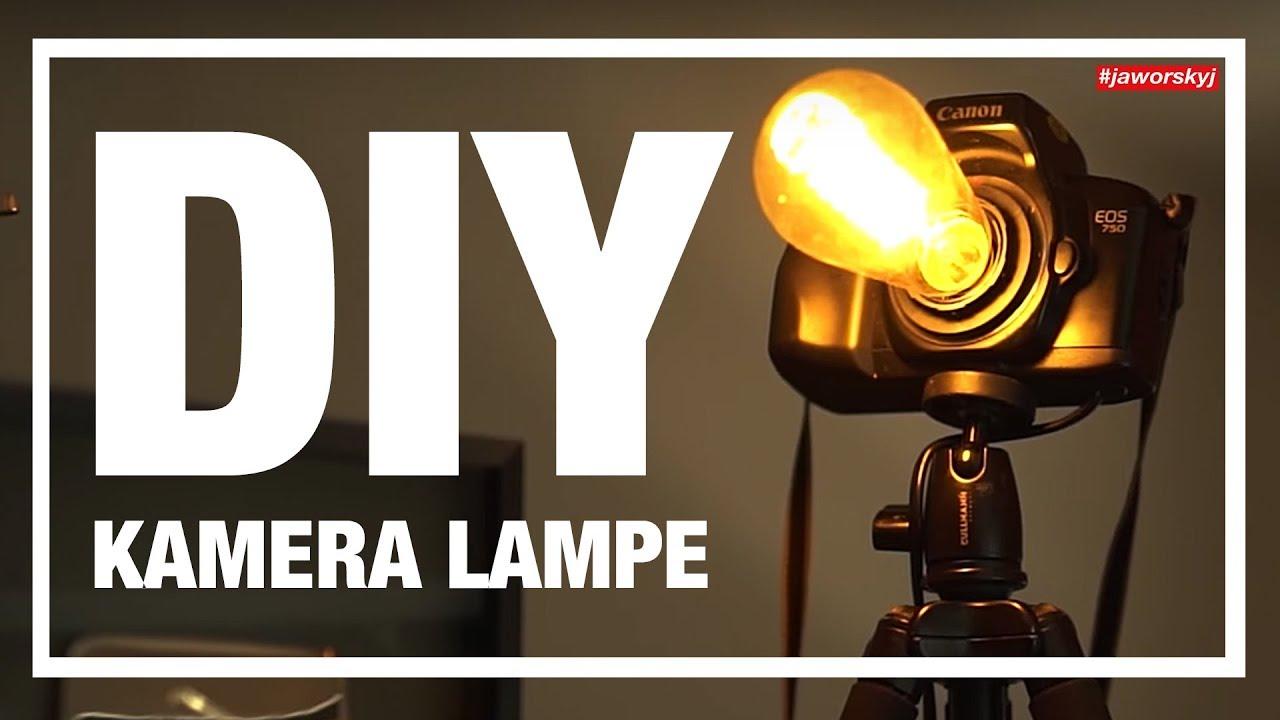 KAMERA LAMPE Selber Bauen 📸 #jaworskyj Anleitung