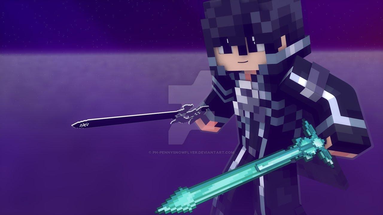 скины из аниме мастера меча онлайн кобольд для майнкрафт #5