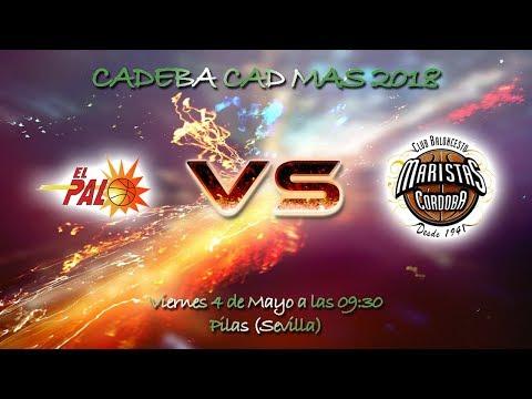 CADEBACADMAS 2018 - CB El Palo FYM HeidelbergCement - Maristas Córdoba A 75