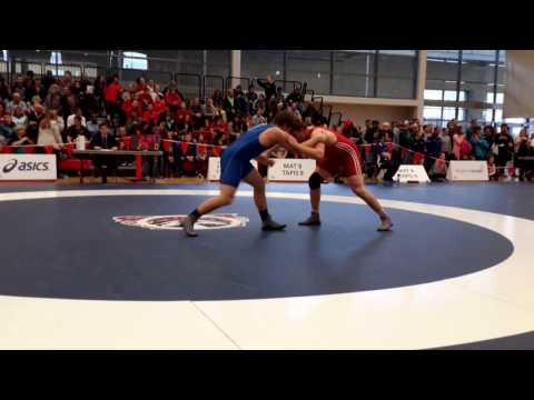 2015 Senior National Championships: 86 kg Nick Proctor vs. Dan Humphrey