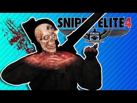 I CAN'T FEEL MY FACE | Sniper Elite 4