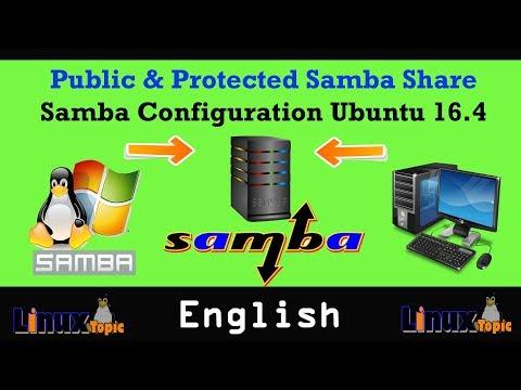 Samba Configuration in Ubuntu 16.4 English | samba server | samba tutorial