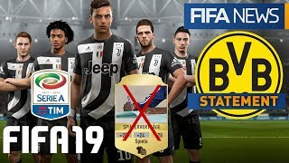FIFA 19 ● SWITCH BESTÄTIGT, SERIE A KOMMT, BVB STATEMENT & EA ELIMINIERT VERTRÄGE | FIFANEWS