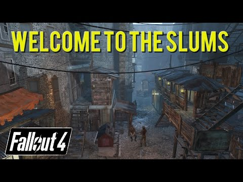 [Fallout 4][PS4] Welcome To The Slums, Hangman's Alley Settlement
