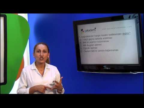 12. Sınıf Dil Ve Anlatım Görüntülü Eğitim Seti Soru Çözümleri