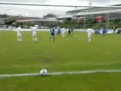 John Boyle goal v Finn Harps