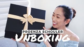 Unboxing Proenza Schouler Bag & What's In My Bag, proenza schouler, what's in my bag, luxury handbag, reebonz