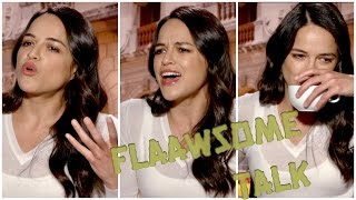 WHY MICHELLE RODRIGUEZ worries A LOT about the FUTURE ... (Fast and Furious 8)
