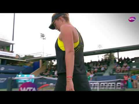 2017 Bank of the West Classic QF | CoCo Vandeweghe vs Anastasia Pavlyuchenkova