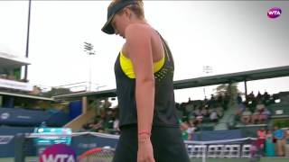 2017 Bank of the West Classic QF | CoCo Vandeweghe vs Anastasia Pavlyuchenkova