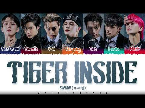 SuperM - 'TIGER INSIDE' Lyrics [Color Coded_Han_Rom_Eng] indir