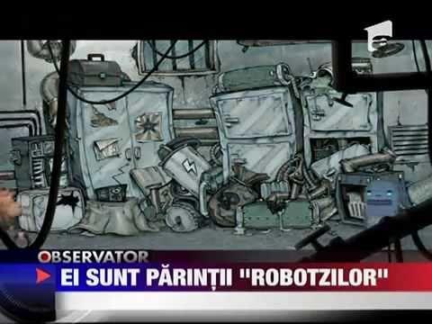 RObotzi si CreativeMonkeyz la Observator @ Antena1