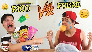 RICO VS POBRE NA ESCOLA #2 -  HORA DO LANCHE!!!