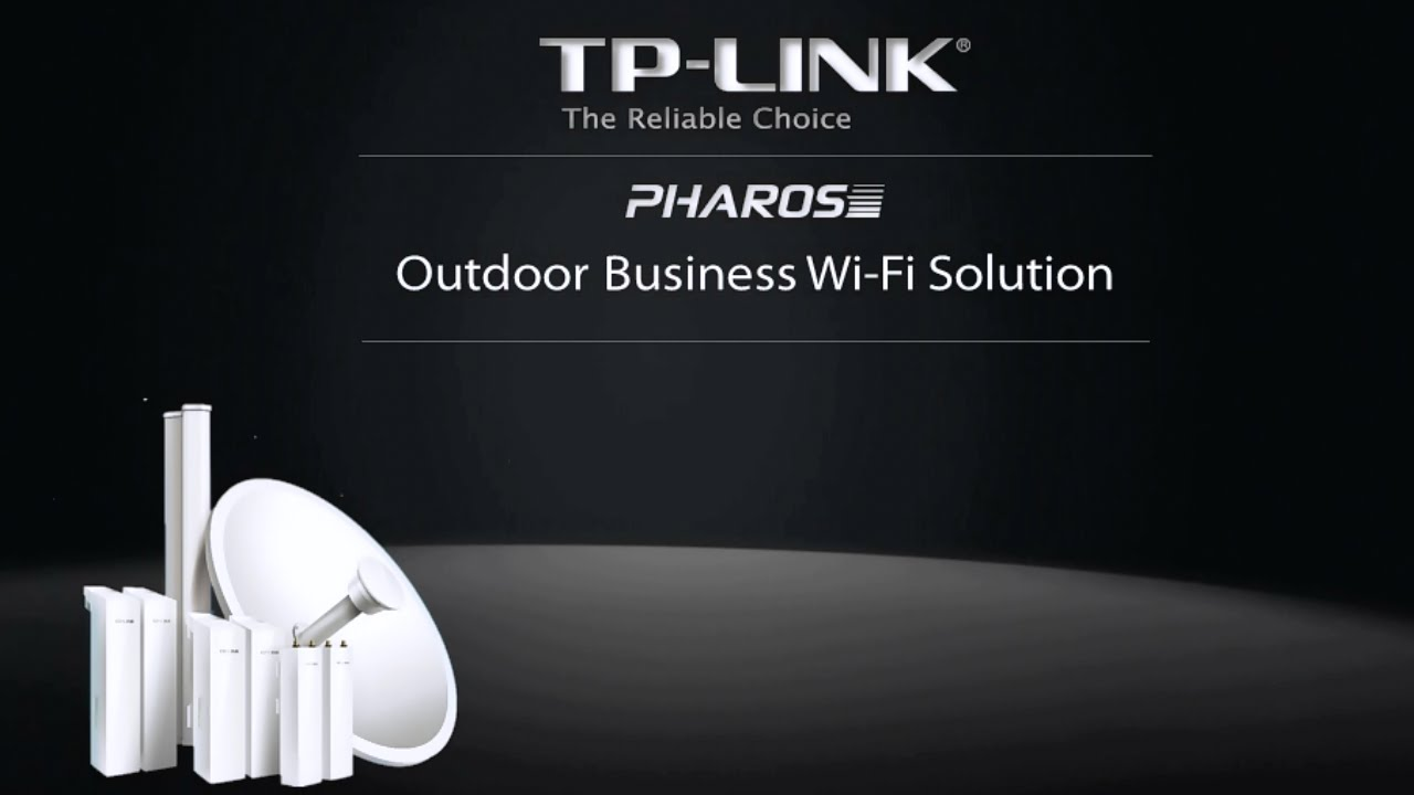 Tp Link Pharos Outdoor Business Wi Fi Solution Youtube Tplink