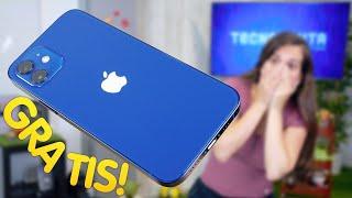 iPHONE 12 GRATIS!!!!!!! Pero antes lo reviento 💥