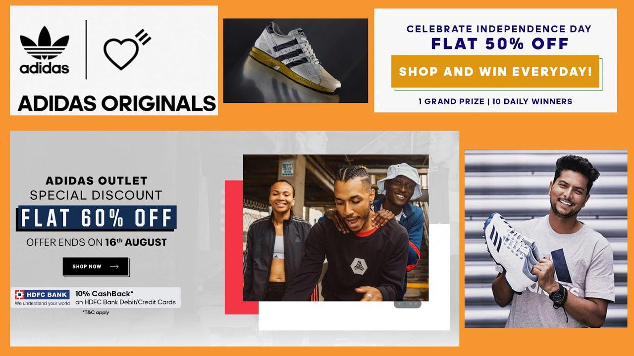 Sale |Adidas MEGA SALE Flat 50