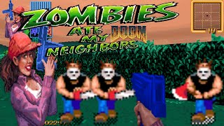 Doom MOD: Zombies Ate My Neighbors TC mod for Doom II (b08_4) - DOOM Single Player (NO DEATH) (DEMO)