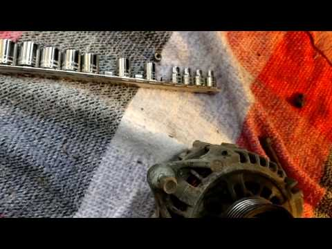 How To Do An '02 Isuzu Rodeo Alternator Swap and Test