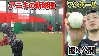 【急停止】アニキの新球種…ワシボール!打者の腰が砕け散る。