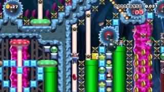 [Super Mario Maker] 40s Cave Speed Run