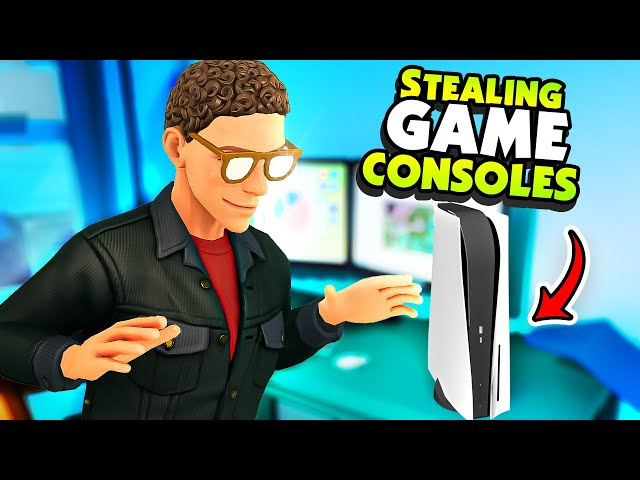 Becoming the ULTIMATE Game Console Thief - A House of Thieves
