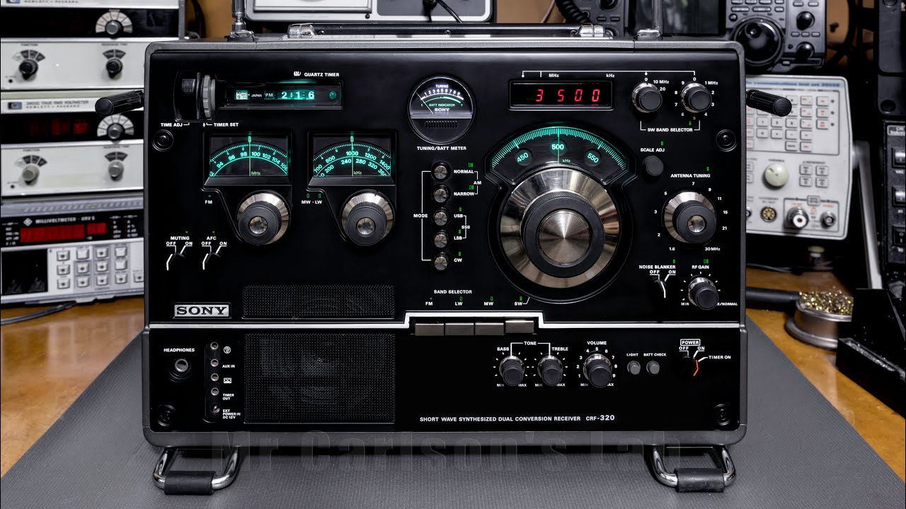 sony crf 320 receiver restoration repair and modification youtube rh youtube com World Band Receiver Radio Sony ICF Sw35 Sony CRF-320 Internals
