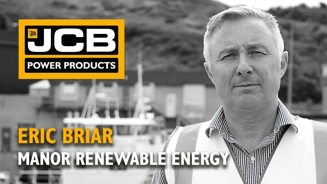 Manor Renewable Energy - JCB Generator Testimonial
