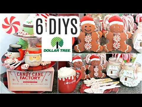 "🎄6 DIY DOLLAR TREE CHRISTMAS HOT COCOA BAR DECOR CRAFTS 2019🎄 ""I Love Christmas"" ep 30 DOLLAR TREE"