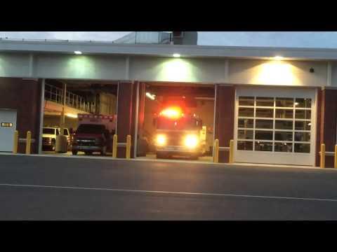 Branford Ct fire department responding