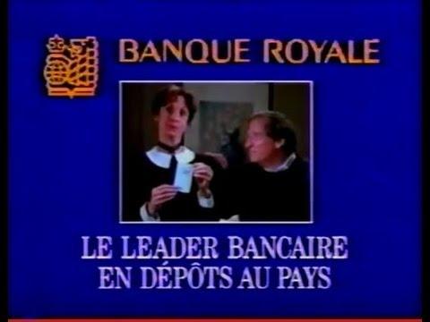 BANQUE ROYALE (Pub Québec) 1989