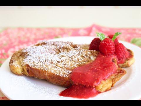 Raspberry Cinnamon Swirl French Toast Recipe