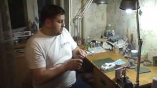 ScaleModels.ru Video #1 - Подготовка кузова автомобиля к покраске