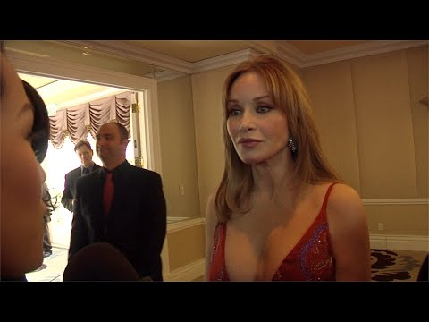 "Tanya Roberts Interview at ""Night of 100 Stars"" 2013 Oscar Viewing ..."