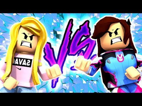 LEAH vs SANNA Who Is THE BEST At Obstacle Courses?! (ROBLOX)